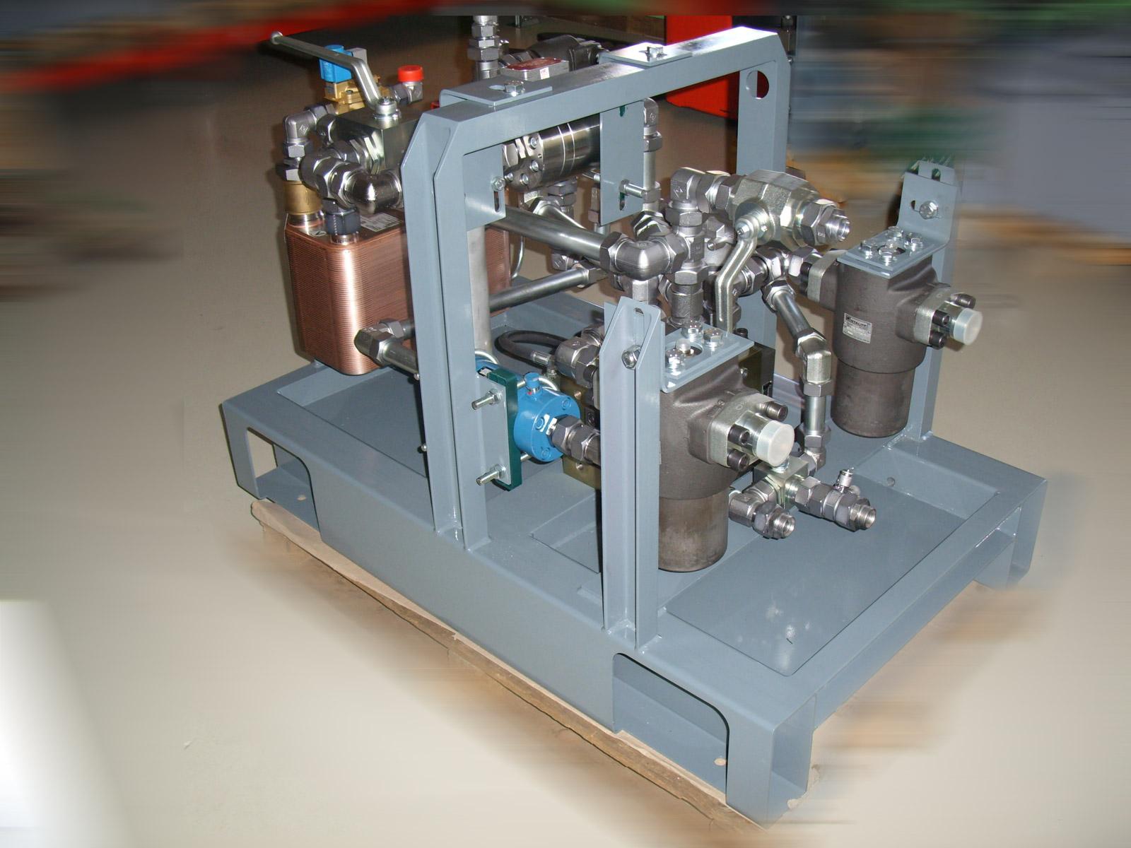 Zákaznícke riešenia – prípravok na meranie hydraulických parametrov